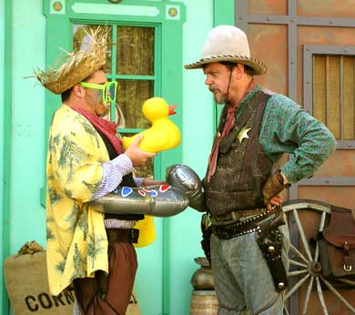 Shenaniguns Comedy Wild West Show The Finest And